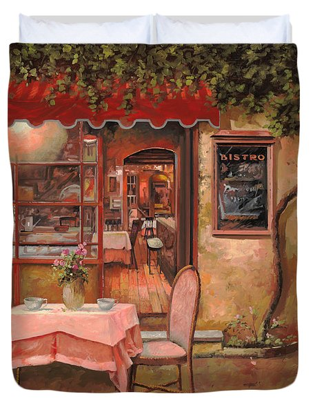 La Palette Duvet Cover by Guido Borelli