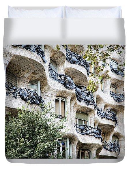 La Pedrera Casa Mila Gaudi  Duvet Cover