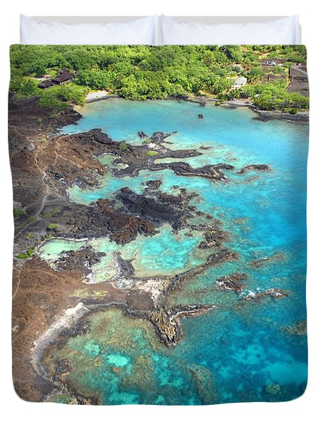 La Perouse Bay Duvet Cover by Ron Dahlquist - Printscapes