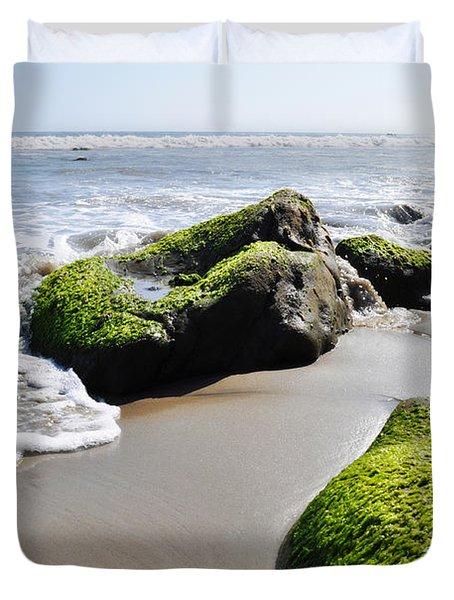 La Piedra Shore Malibu Duvet Cover