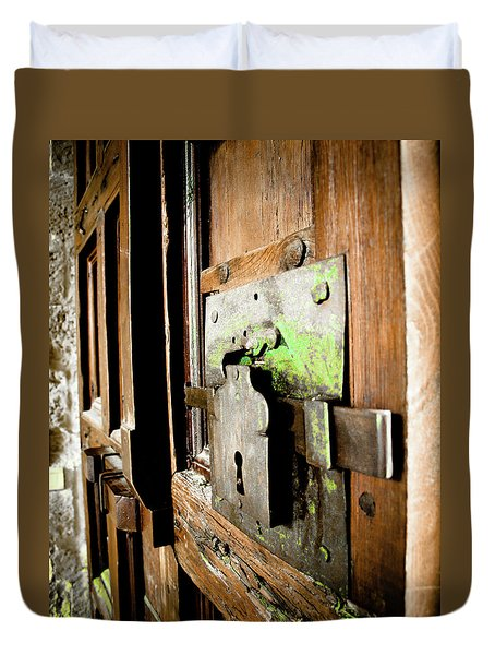 La Porta Chiusa Duvet Cover