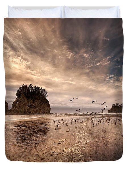 La Push Sunset Duvet Cover