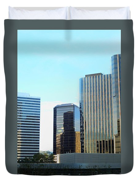 La Reflective Duvet Cover