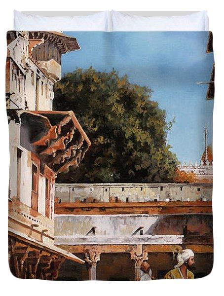 La Torre Bianca Duvet Cover