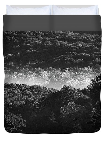 La Vallee Des Fees Duvet Cover by Steven Huszar