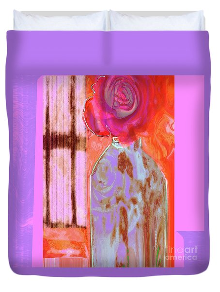 La Vie En Rose  1 Duvet Cover