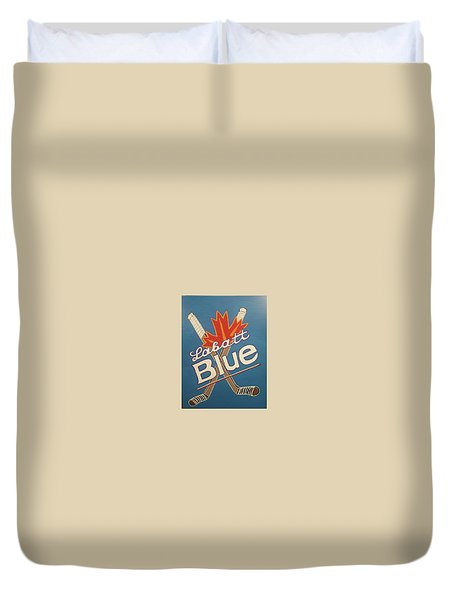 Labatt Blue Duvet Cover