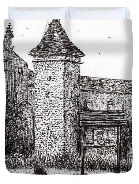 L'abbeye Blassimon Duvet Cover