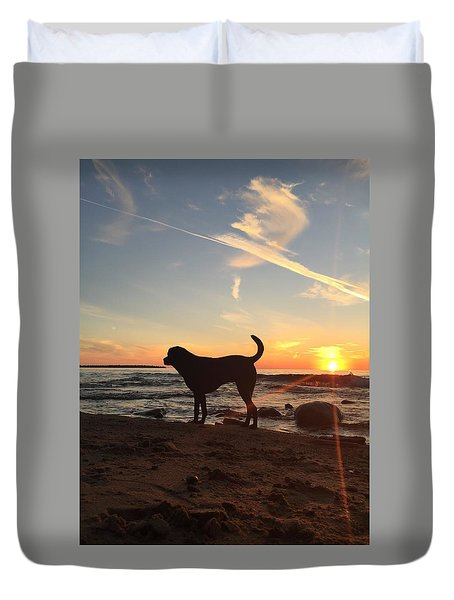 Labrador Dreams Duvet Cover