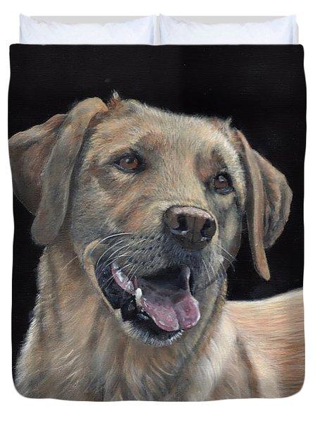 Labrador Portrait Duvet Cover