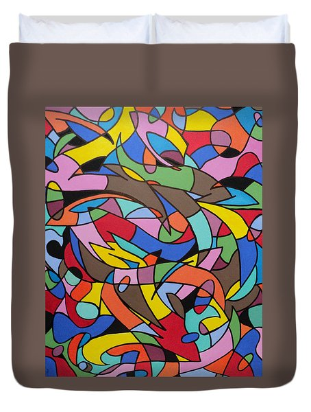 Labrynith Duvet Cover