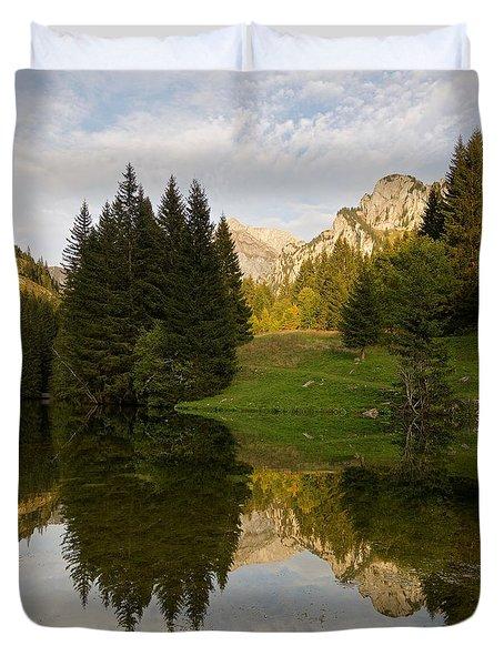 Lac De Fontaine Duvet Cover