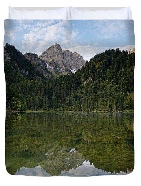Lac Des Plagnes Duvet Cover