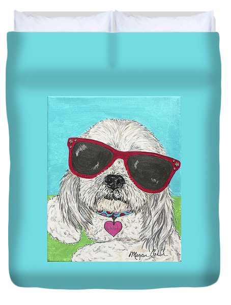 Laci With Shades Duvet Cover