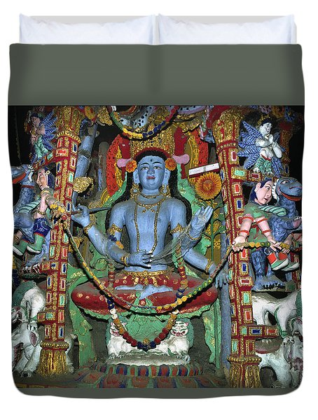 Ladakh_27-5 Duvet Cover by Craig Lovell