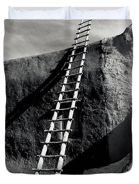 Ladder To The Sky Duvet Cover