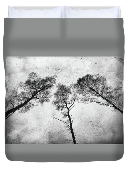 Ladies Of The Woods Duvet Cover by Karen Stahlros