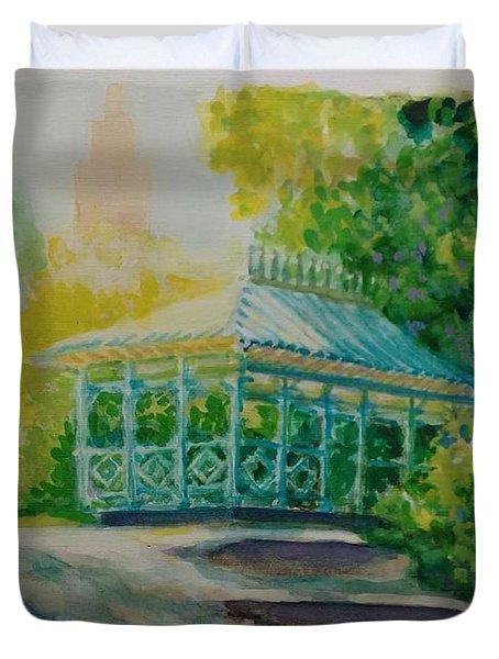 Ladies Pavilion, Cpnyc Duvet Cover
