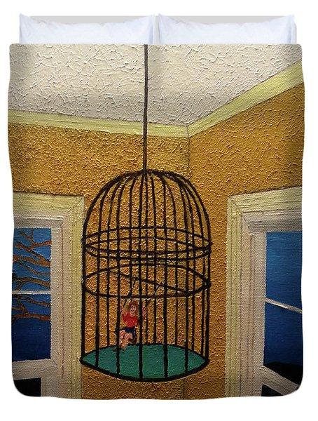 Lady Bird Duvet Cover