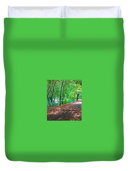 Lady Bird Trail Duvet Cover