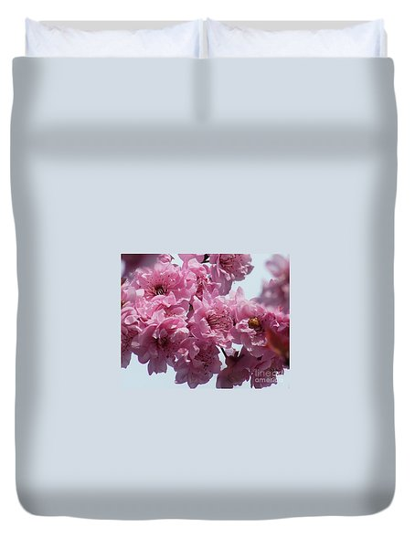 Duvet Cover featuring the photograph Lady Bug by Victor K