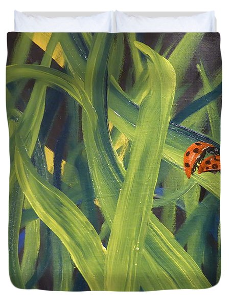 Lady Bugs Duvet Cover