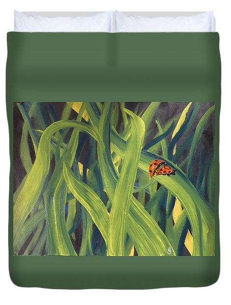 Lady Bugs Duvet Cover
