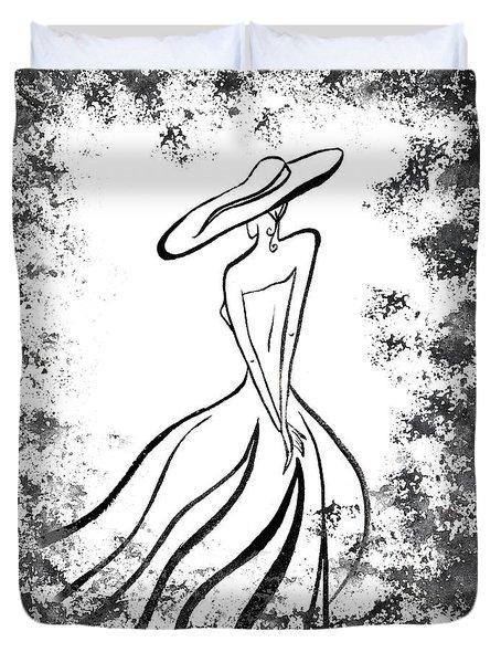 Lady Charm Duvet Cover by Irina Sztukowski