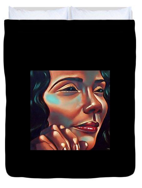 Lady Coretta Duvet Cover