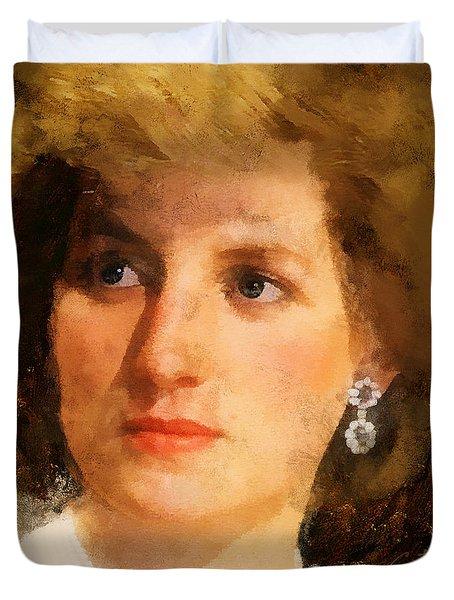Lady Diana Duvet Cover