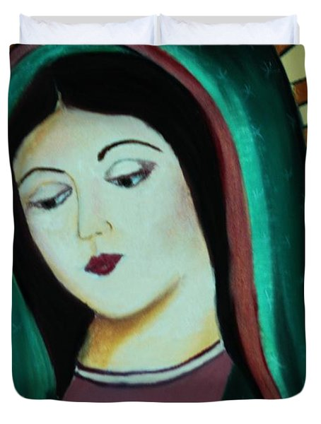 Lady Of Guadalupe Duvet Cover