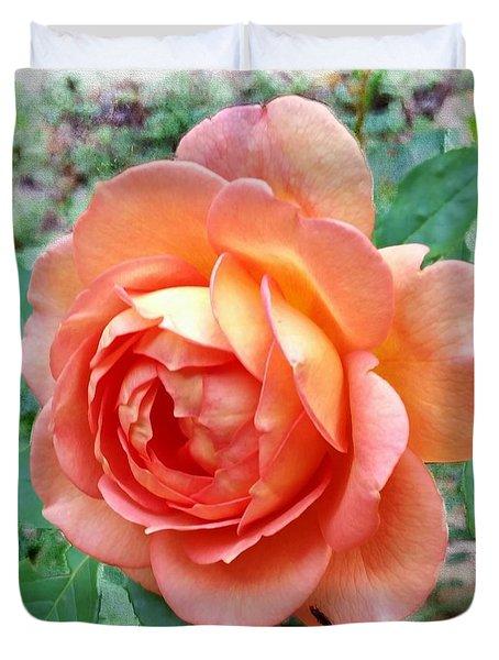 Lady Of Shalott Rose Duvet Cover