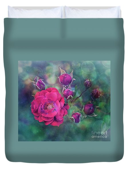 Lady Rose Duvet Cover