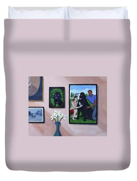 Lady's Family Gallery Duvet Cover