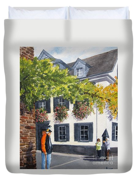 Lady's Man Duvet Cover