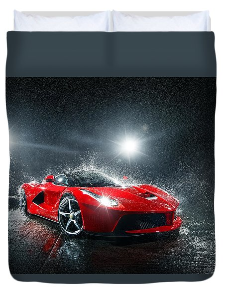 Laferrari Splash Duvet Cover