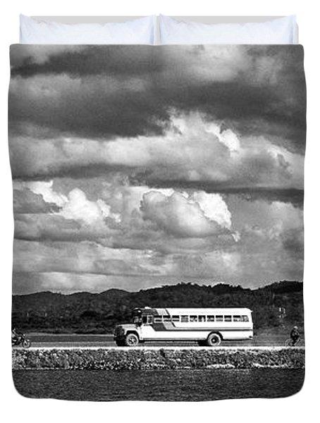 Lago Peten Itza - Guatemala Duvet Cover by Juergen Weiss