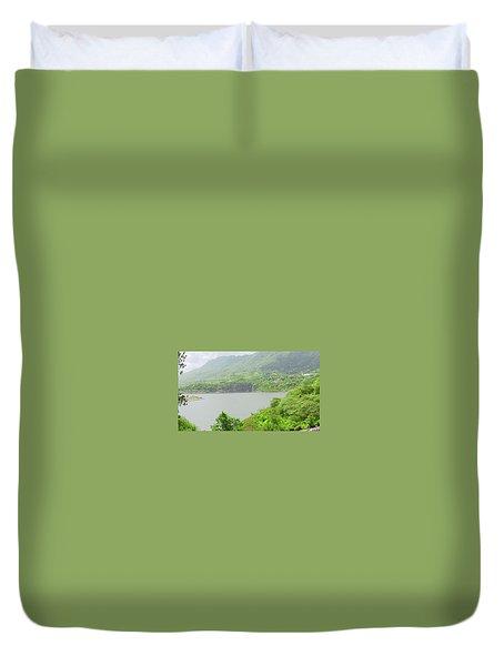 Lago Toa Vaca Duvet Cover