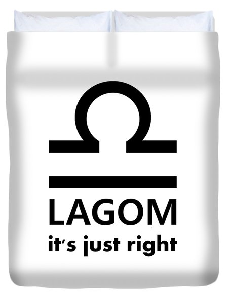 Lagom - Just Right Duvet Cover