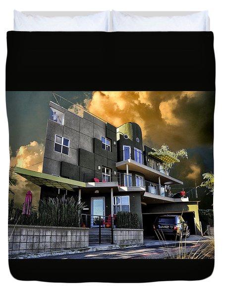 Lagoon House Duvet Cover