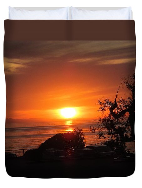 Laguna Beach California Feb 2016 Duvet Cover
