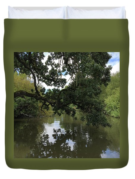 Laguna Bridge Duvet Cover