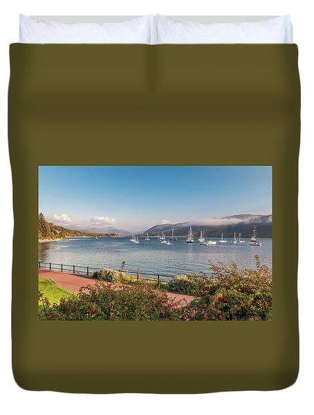 Gulf Of  Ullapool  - Photo Duvet Cover