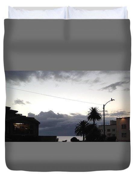 Laguna Rain 2015 Duvet Cover