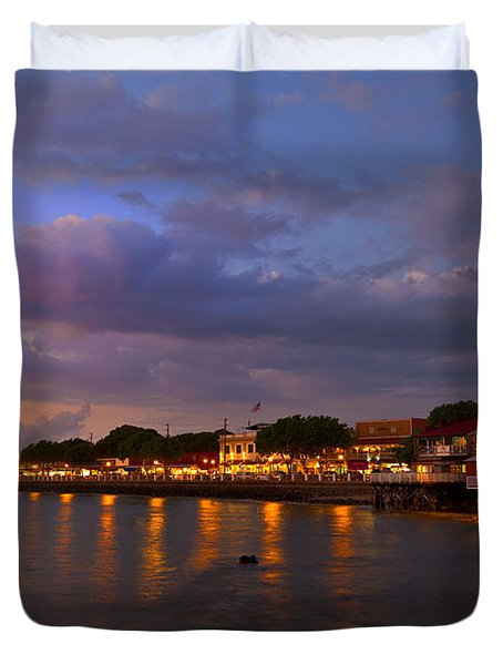 Lahaina Twilight Duvet Cover