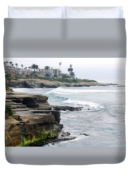 Lajolla Duvet Cover by Bill Dutting