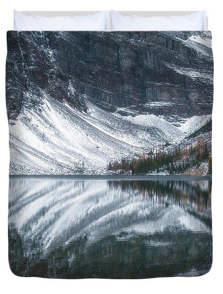 Lake Agnes No 1 Duvet Cover