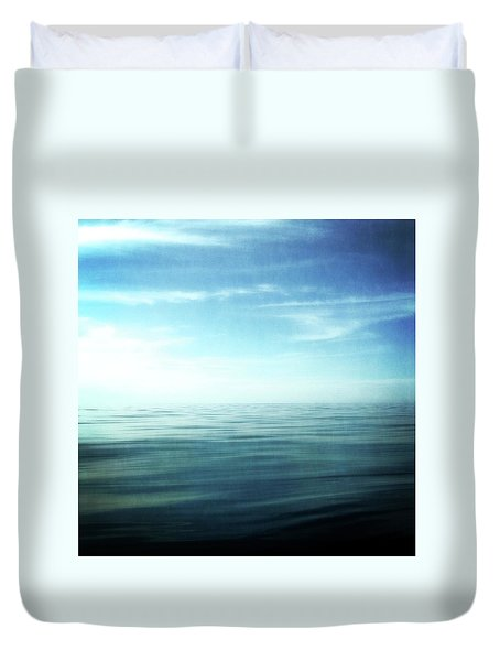 Lake And Sky Duvet Cover
