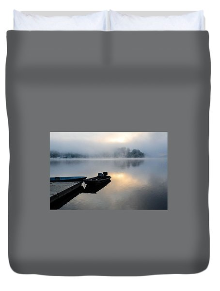 Lake Calm Duvet Cover