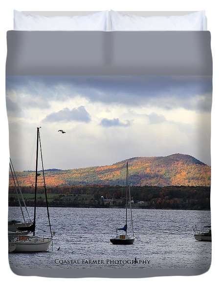 Lake Champlain Duvet Cover